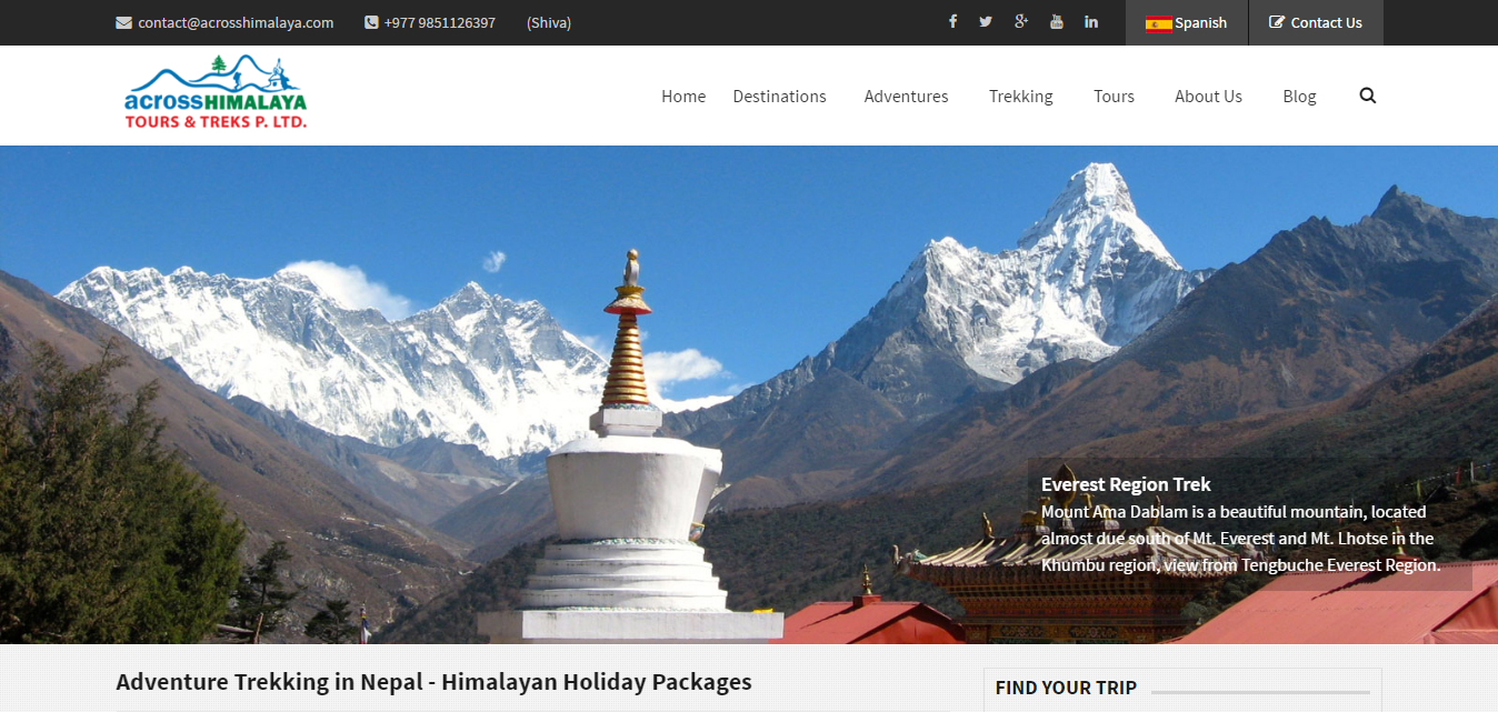 Across Himalaya Treks and Tours